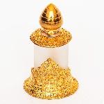 Золотой флакон для масляных духов